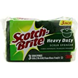 Scotch-Brite Heavy Duty Scrub Sponge, 3-Count