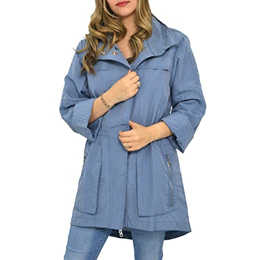 571224960bdb1 Amazon.com: My Anorak Jacket (Small, Oxford Blue): Clothing
