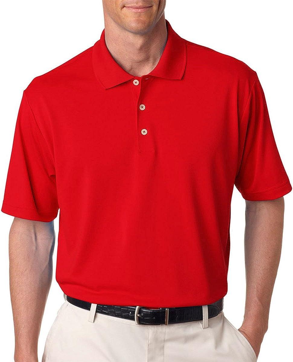 Adidas Mens ClimaLite Piquי Polo 3XL University Red