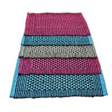 Online Quality Store Fancy Door mats cotton set of 5 (Multi, Cotton,16*24,Medium) Offer price for 7 Days