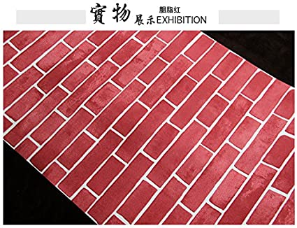Reyqing 3d solido piastrelle mattoni tessuti non tessuti