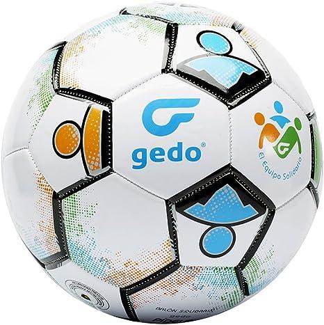 Gedo Balsol 1602 Balón de Fútbol, Unisex Adulto, Blanco, Talla ...