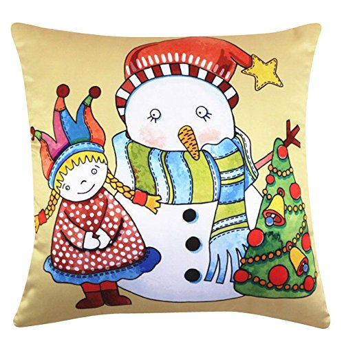 Christmas Pillow Cases, HunYUN Merry Christmas Series Halloween Sofa Bed Home Decor Pillow Case Cushion Cover for $<!--$3.68-->