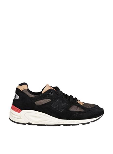 NEW BALANCE SNEAKERS UOMO NBM990CD82 CAMOSCIO NERO