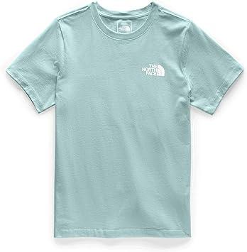 The North Face SS Red Box Crew Camiseta para Mujer - Blanco - Large: Amazon.es: Ropa y accesorios