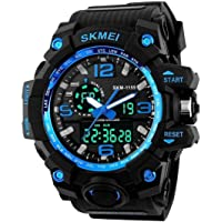 Skmei Analogue Digtal Dual Quartz Movement Military Design Water Resistant Sports Men's Watch -(1545)