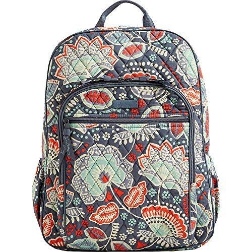 Vera Bradley Women's Campus Backpack Nomadic Floral Backpack