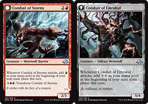 Magic: the Gathering - Conduit of Storms // Conduit of Emrakul (124/205) - Eldritch Moon
