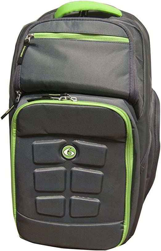 Fitness Expedition Backpack Meal Mangement System 500 Grey/Green ...