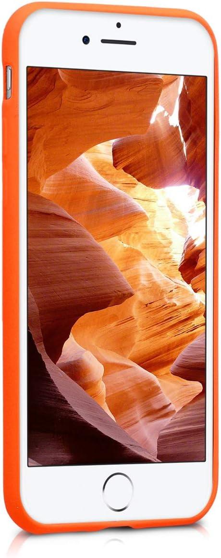 Housse de t/él/éphone en Silicone Menthe Mat kwmobile Coque Apple iPhone 7//8 Coque pour Apple iPhone 7//8