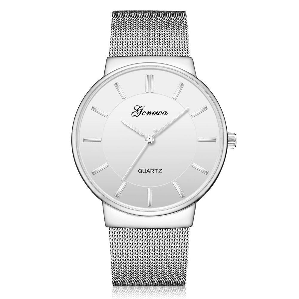 SamMoSon Relojes Hombre Deportivos Elegantes Digital Inteligente De Agua, Reloj De Pulsera Análogo De Cuarzo Simple Casual para Hombres Relojes De Pulsera: ...