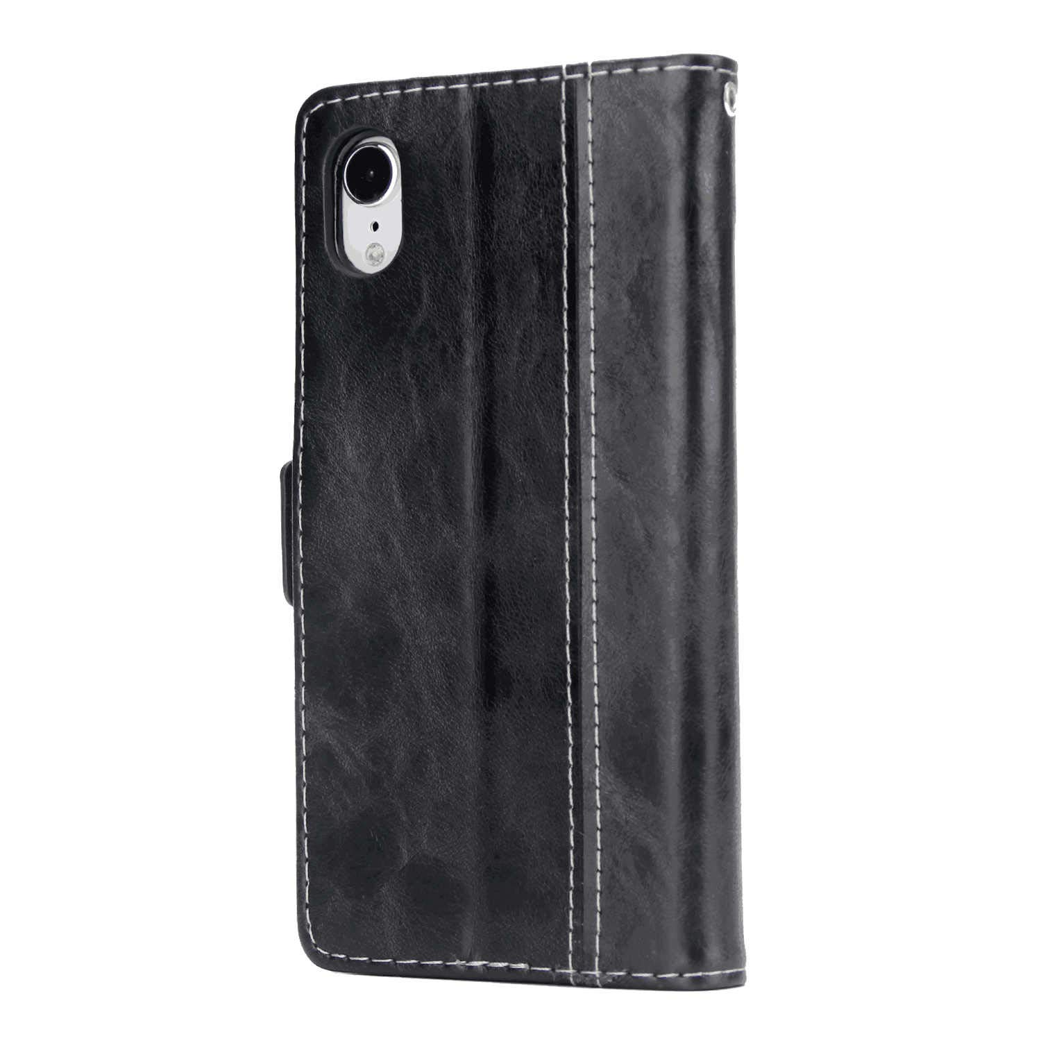 Cover for Samsung Galaxy S9 Leather Kickstand Cell Phone Cover Luxury Business Card Holders with Free Waterproof-Bag White1 Samsung Galaxy S9 Flip Case