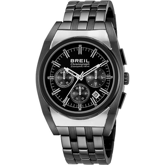Breil Reloj Análogo clásico para Hombre de Cuarzo con Correa en Acero Inoxidable TW0925