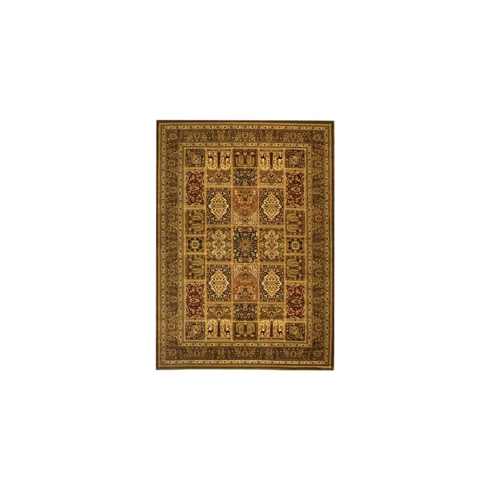 Safavieh Lyndhurst Collection LNH217A Traditional Multi and Green Rectangle Area Rug (811 x 12)
