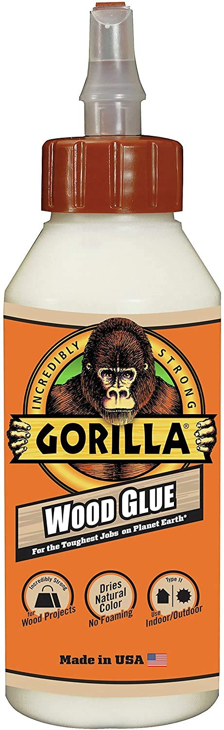 Gorilla - Exclusive Edition Pack of 1 8 Ounce Bottle, Wood Glue