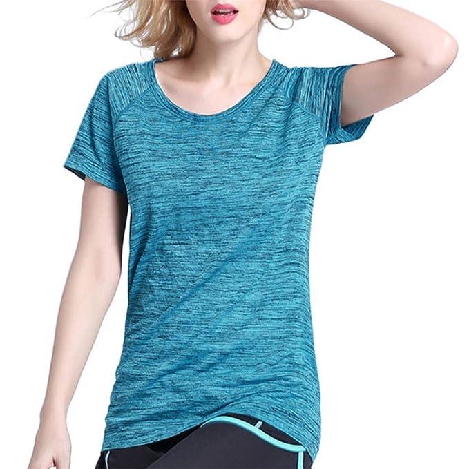 LUNULE VENMO Camisetas Deporte Mujer, Camisetas Mujer Manga ...