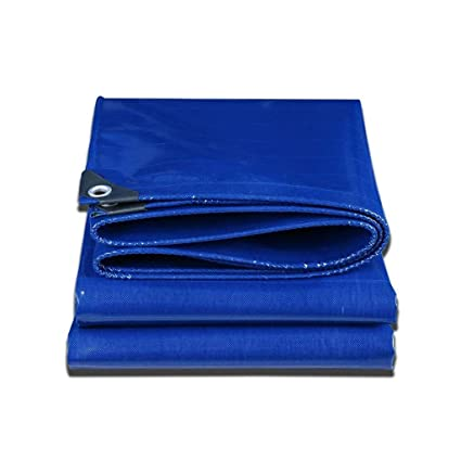 Premier Quality Tarpaulin Heavy Duty Strong Blue Waterproof Ground Cover Sheet