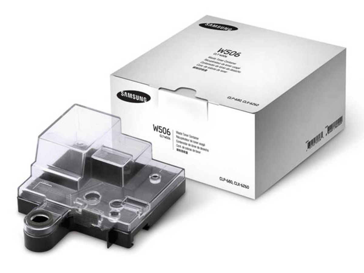 Samsung CLP-680 ND (W506 / CLT-W 506/SEE) - original - Toner waste box - 14.000 Pages