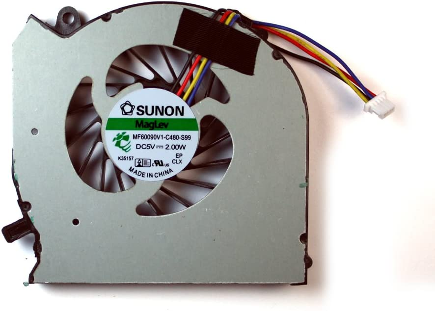 HP Pavilion DV7-7050sb Power4Laptops Replacement Laptop Fan for HP Pavilion DV7-7050eb HP Pavilion DV7-7051xx HP Pavilion DV7-7057ez HP Pavilion dv7-7051ea