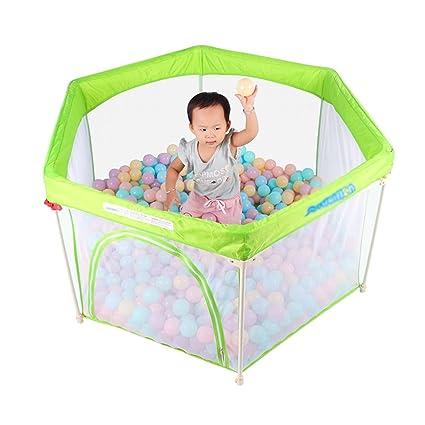 Parques de juegos Cerca Protectora Verde bebé Niño casa Juego Cerca ...