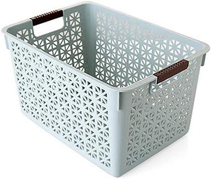 Caja de Almacenamiento de Escritorio Cesta de Almacenamiento de Frutas de Cocina Cesta de Almacenamiento de Baño Cesta de Acabado Cesta Pequeña Cesta de 3 Colores Cesta de Almacenamiento Opcional, J: Amazon.es: