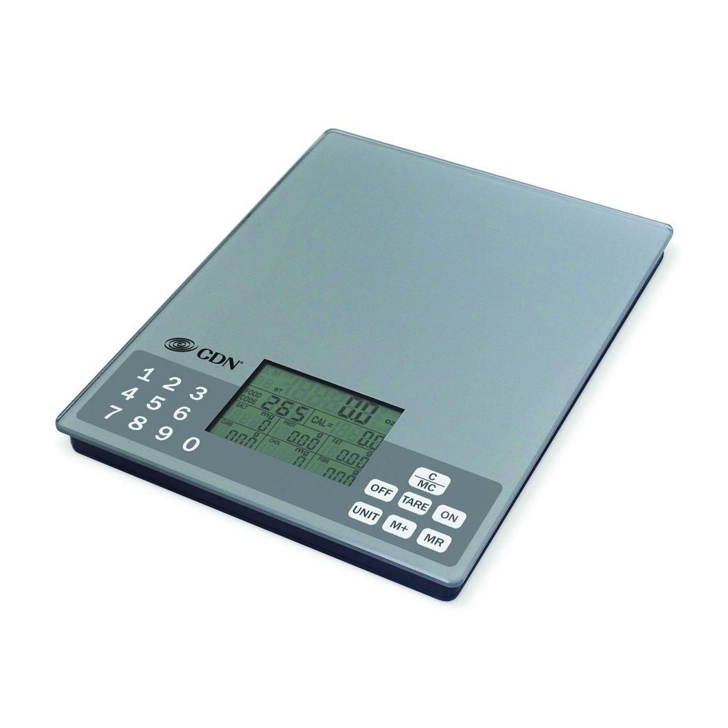 Amazon.com: CDN SD1106 - Digital Nutrition Scale, 11 lb, - Kitchen ...