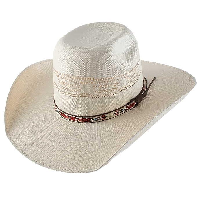 171377f17e3 Resistol Tuff Hedeman Collection Young Guns Bangora Straw Cowboy Hat ...