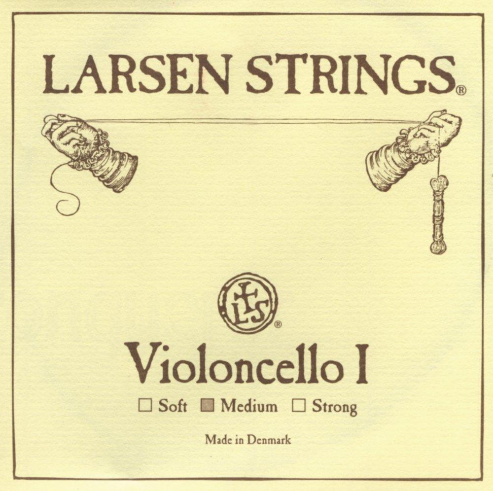 Larsen Strings Chromesteel Series Cello Strings, A, Chromesteel, Strong 6LCAF