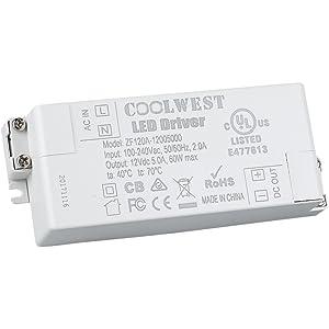 Tremendous Amazon Com Yunlights Led Transformer Led Power Supply 36W 12V Dc Wiring Digital Resources Funapmognl