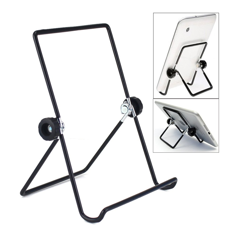 MOACC Tablet Holder Stand, Universal Multi-Angle Non-Slip Adjustable Holder Cradle Compatible for 9-10.1 inch Tablet PC, Pad (2 Pack)