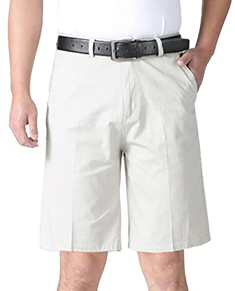 653a10bcef Fubotevic Mens Plus Size Solid Casual Flat-Front Workout Cargo Shorts Board  Swim Trunk 1
