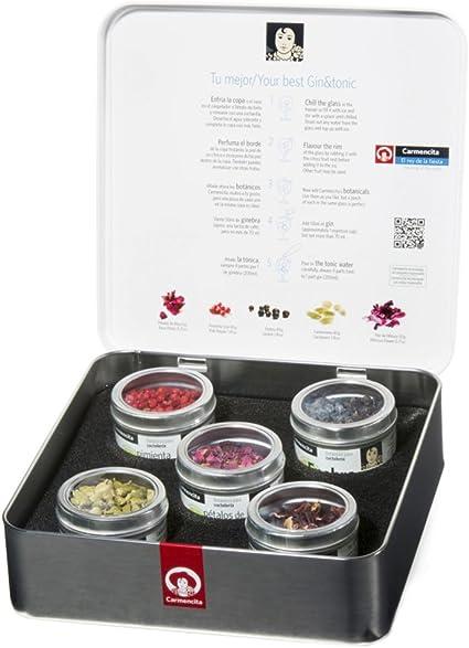 Carmencita Botánicos para Gin Tonic - 1 paquete: Amazon.es: Alimentación y bebidas