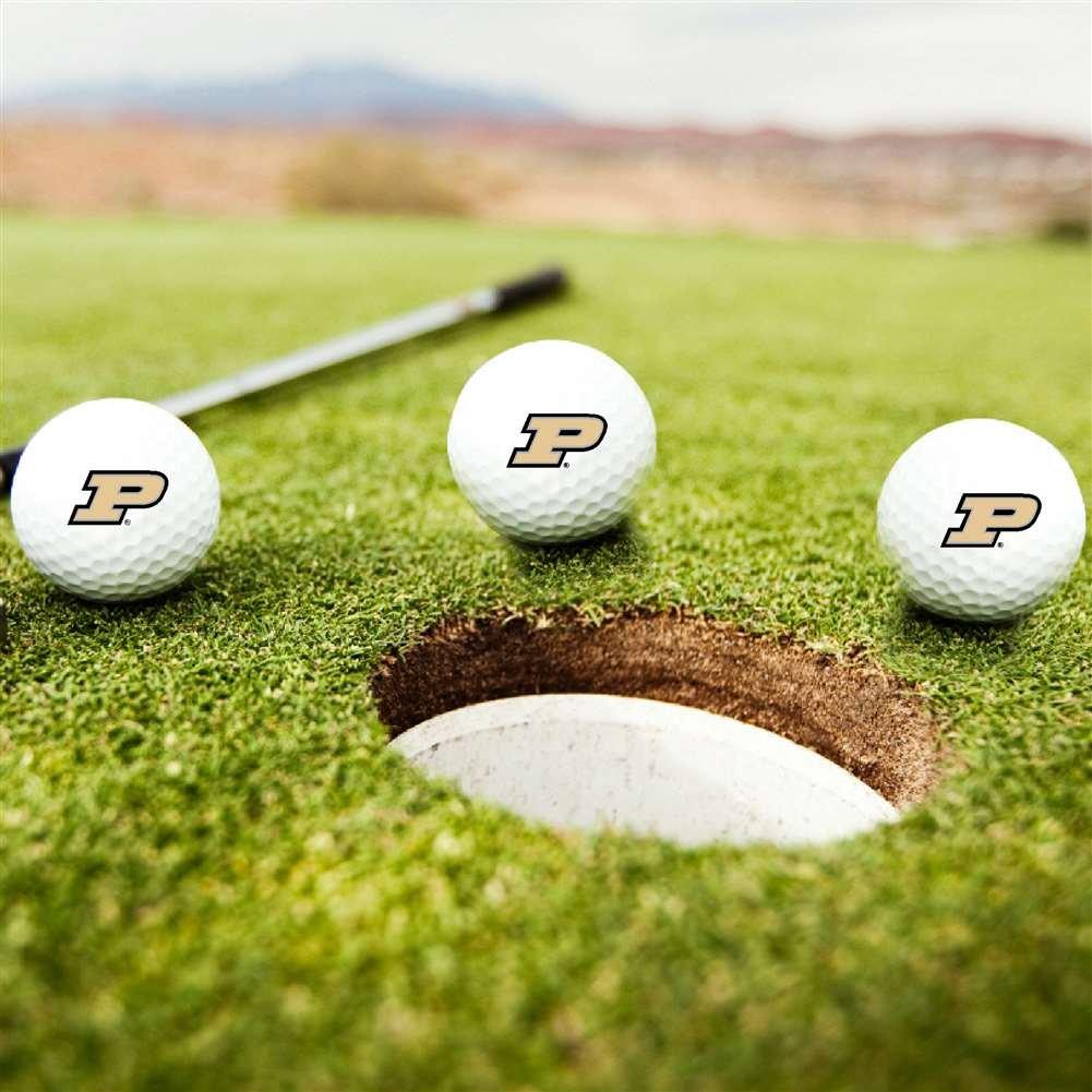 Purdue Boilermakersゴルフボール – 3のセット   B0722DGNB3