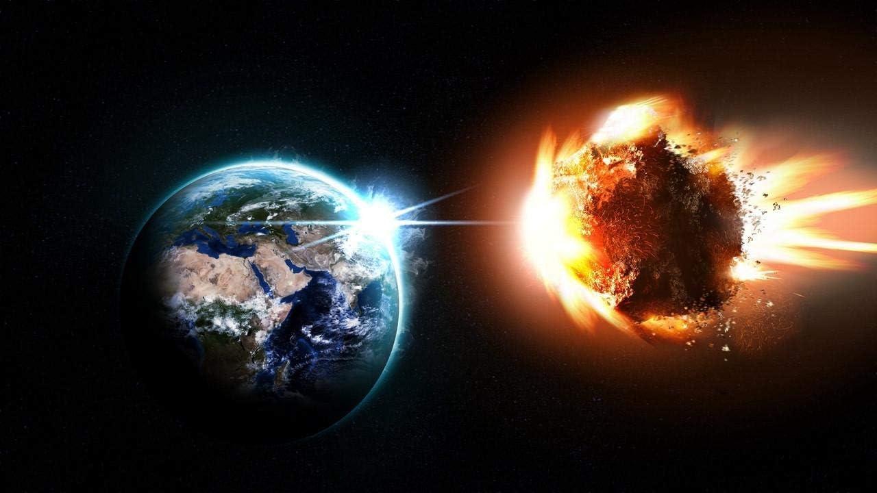 HGYTR Planeta meteorito asteroide Cometa explosión Espacio DIY Pinturas al óleo Digitales Pintura Pintura acrílica Kit de decoración del hogar