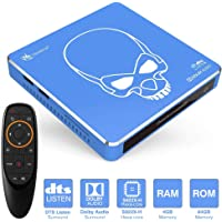 Beelink GT-King Pro 4GB+64GB TV Box Android 9.0 - Amlogic S922X Hexa-core ARM G52 4K H.265 Smart Streaming Media Players Open-SDK 2.4+5.8G WiFi/BT 4.1 / 1000Mpbs/LAN