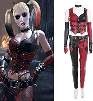 Rubyonly El Traje Cosplay Knight Batman Arkham Harley Quinn ...
