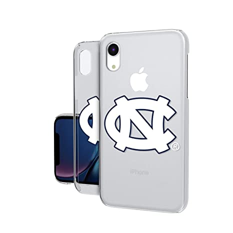 7ae267b4140bc6 Image Unavailable. Image not available for. Color  Keyscaper  KCLRXR-0UNC-INSGN1 North Carolina Tar Heels iPhone XR Clear Case ...