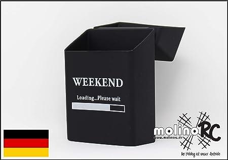 molinoRC - Caja de Cigarrillos de Silicona para Weekend - Funda para Cigarrillos - Tamaño estándar - también Compatible con 21 Cajas: Amazon.es: Hogar
