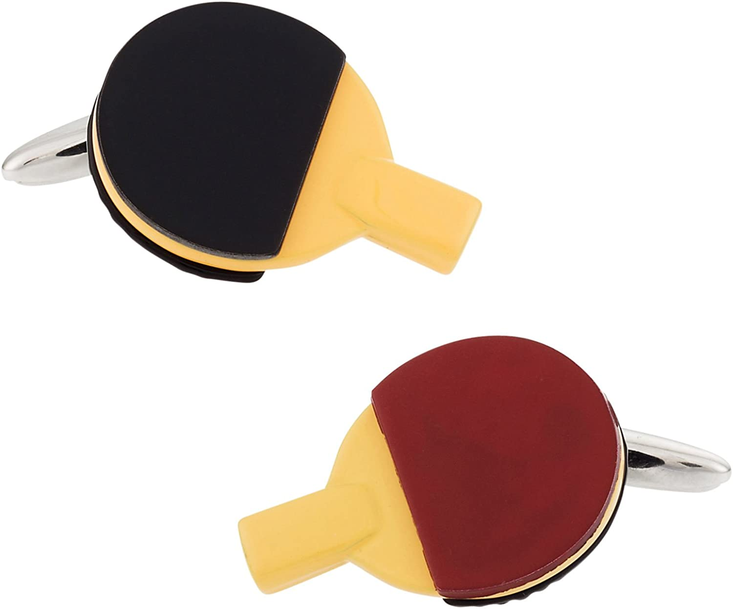Cracked Pepper Cuff-Daddy Ping Pong Cufflinks with Presentation Box
