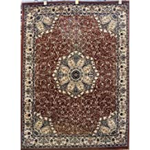 Avalon 0214 Brown 5x7 Area Rugs Carpet Traditional Persian
