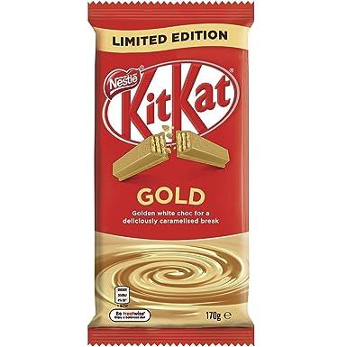 Nestle Kit Kat Chocolate con Leche Bloque de Oro 170gm x 12