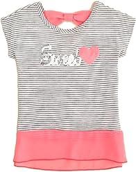 73974620cedc Lily Bleu Girls  Sweetheart Stripe Tee