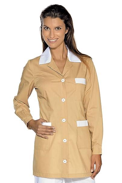 Isacco-túnica médica Marbella, diseño de Galleta, Color Blanco: Amazon.es: Ropa y accesorios