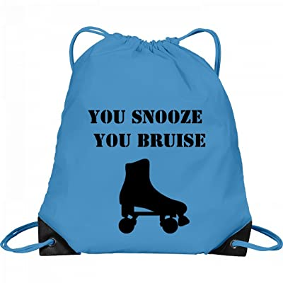 Snooze N Bruise Derby Bag: Port & Company Drawstring Bag