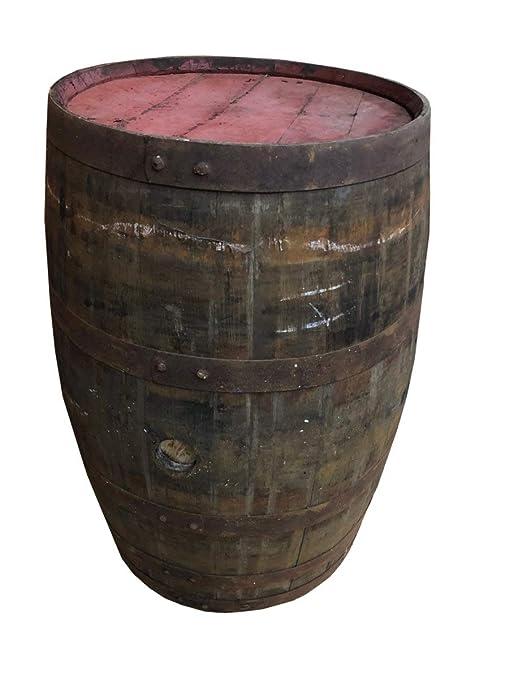 NHF - Barril de Whisky Usado como Mesa de pie, Barril de Roble ...