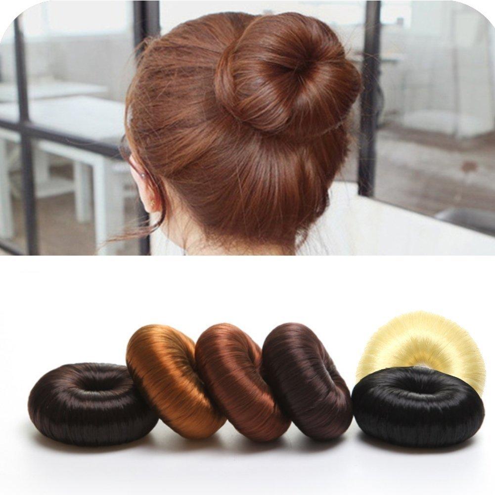 Belmique Donut Hair Bun Maker Dutthilfe Knotenringe Knotenrolle