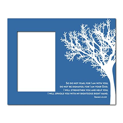 Amazon Picture Frame Christian Theme Isaiah 4110 Holds