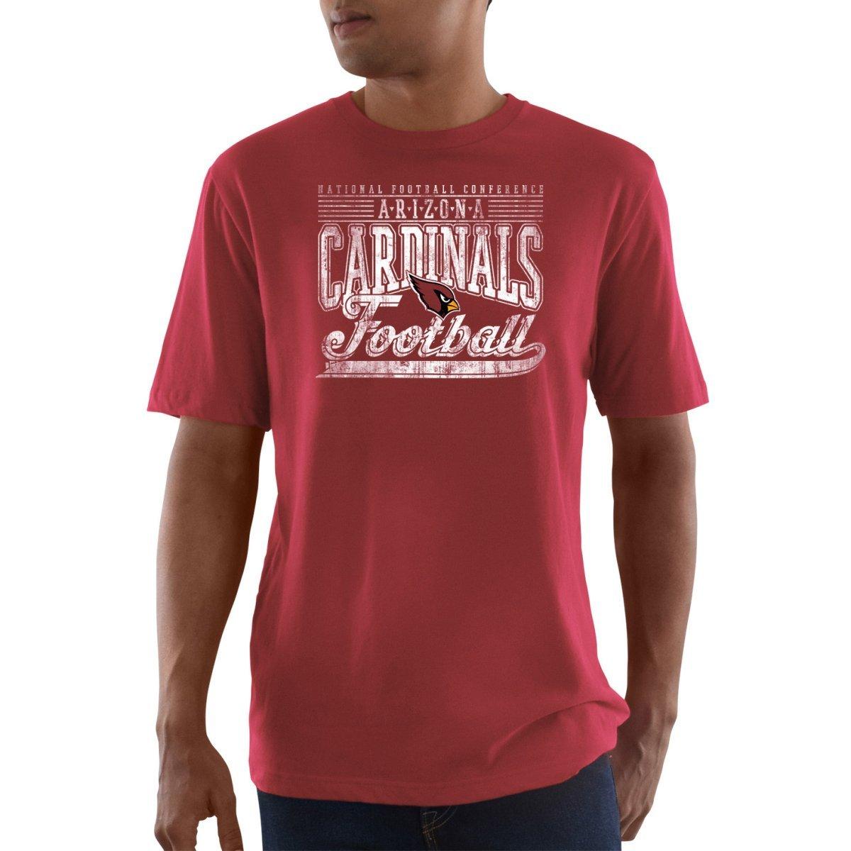 Arizona Cardinals Rouge Majestic Ball Carrier Shirt