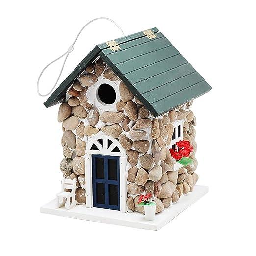 Birdhouses GONAPatio jardín pájaro casa Nido Jaula o Fuera de ...