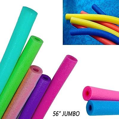 1 Swimming Floating Pool Foam Noodle Swim Noodles Water Float Floatie Crafts: Toys & Games [5Bkhe0205788]